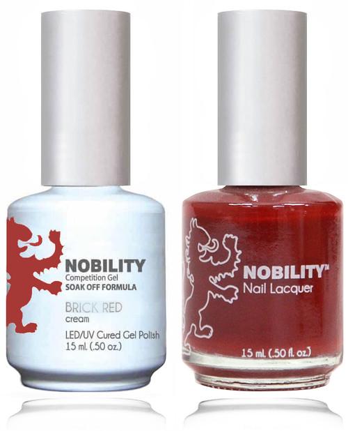 LECHAT NOBILITY Gel Polish & Nail Lacquer Set - Brick Red