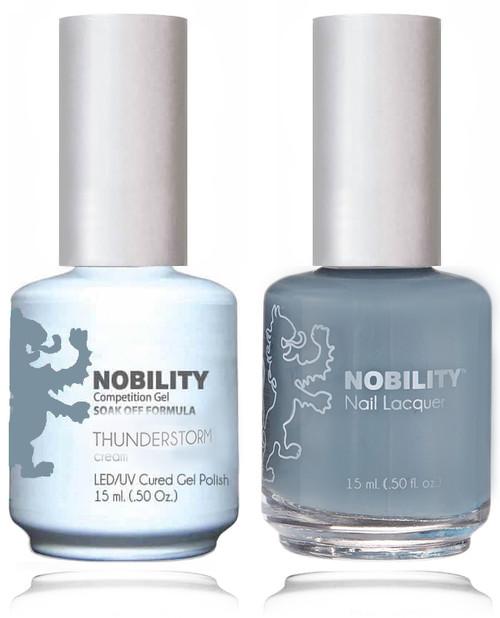 LECHAT NOBILITY Gel Polish & Nail Lacquer Set - Thundersto