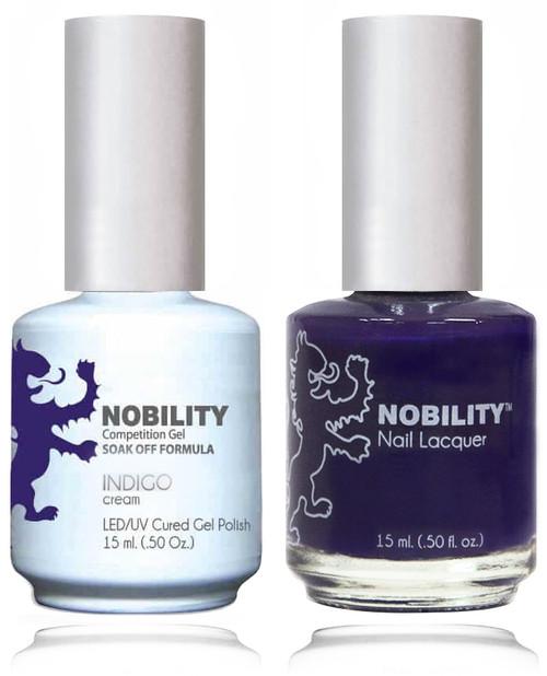 LECHAT NOBILITY Gel Polish & Nail Lacquer Set - Indigo