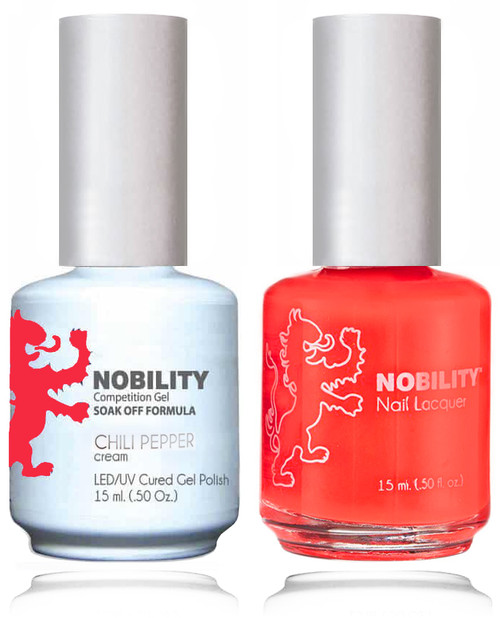 LECHAT NOBILITY Gel Polish & Nail Lacquer Set - Chili Pepper