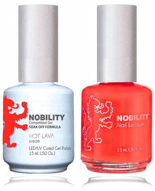 LECHAT NOBILITY Gel Polish & Nail Lacquer Set - Hot Lava