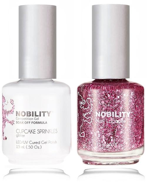 LECHAT NOBILITY Gel Polish & Nail Lacquer Set - Cupcake Sprinkles