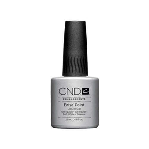 CND Brisa - Pure White Gel Paint 0.43oz