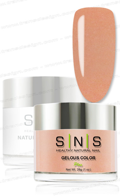 SNS Gelous Dip Powder - NC17 Whitney