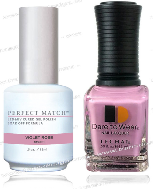 LECHAT Perfect Match - Violet Rose 2/Pack