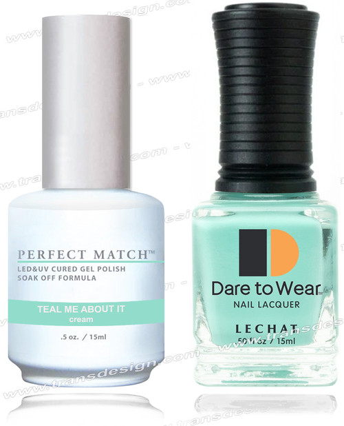 LECHAT Perfect Match - Teal Me About It 2/Pack