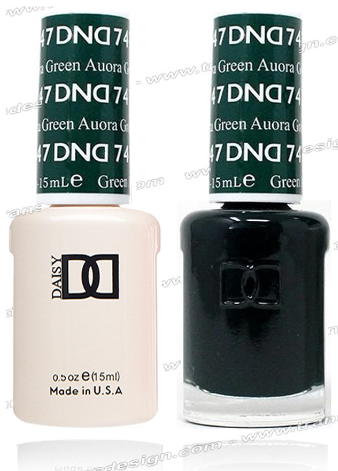 DND Gel Duo - Aurora Green
