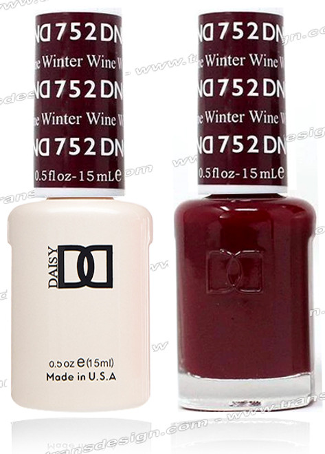DND Gel Duo - Winter Wine