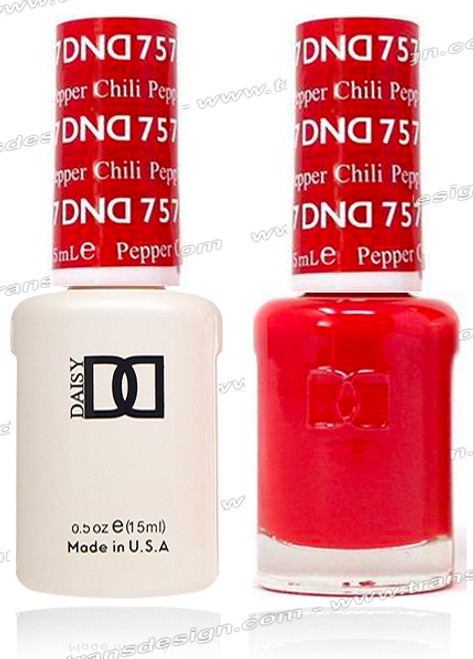 DND Gel Duo - Chili Pepper