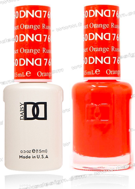 DND Gel Duo - Russet Orange