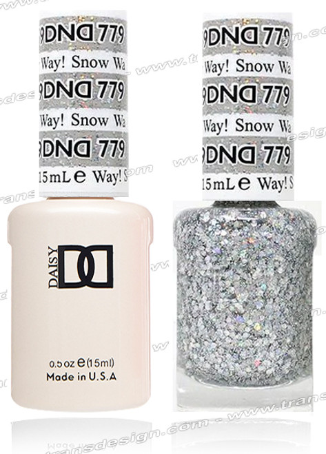 DND Gel Duo - Snow Way!