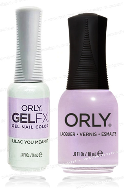 ORLY Perfect Pair Matching - Lilac You Mean It