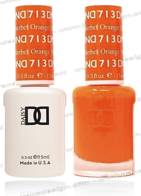 DND DUO GEL - Orange Sherbet