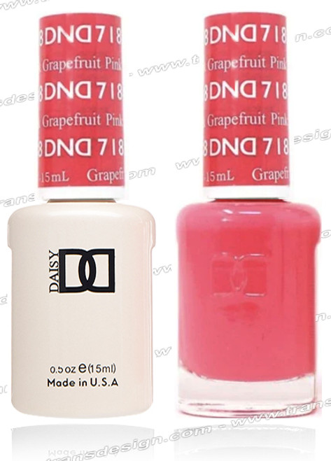DND DUO GEL - Pink Grapefruit