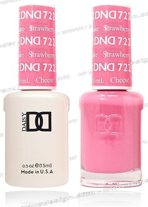 DND DUO GEL - Strawberry Cheesecake