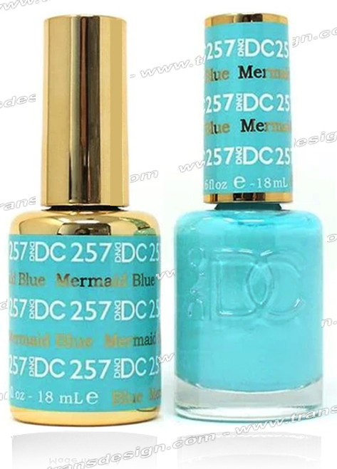 DND DC DUO GEL - Mermaid Blue