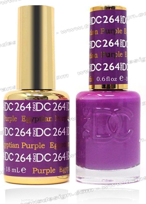 DND DC DUO GEL - Egyptian Purple