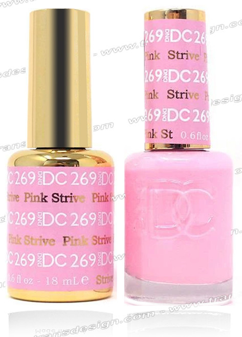DND DC DUO GEL - Pink Strive