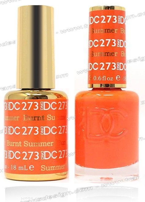DND DC DUO GEL - Burnt Summer