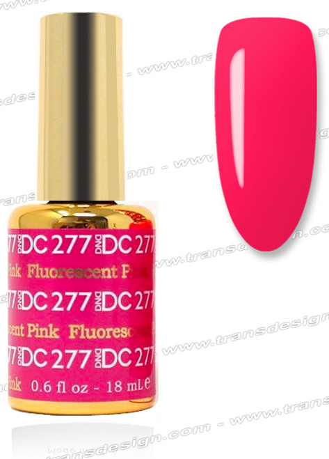 DND DC DUO GEL - Flourescent Pink