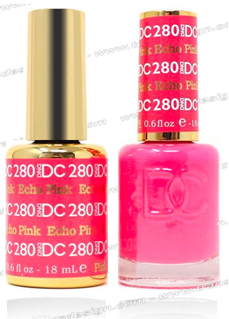 DND DC DUO GEL - Echo Pink