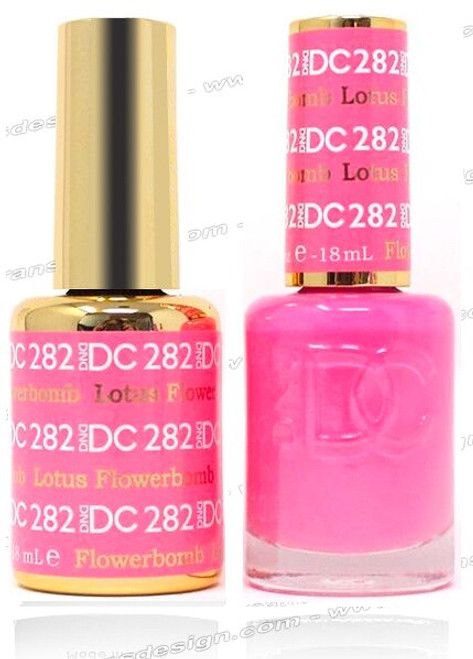 DND DC DUO GEL - Lotus Flowerbomb