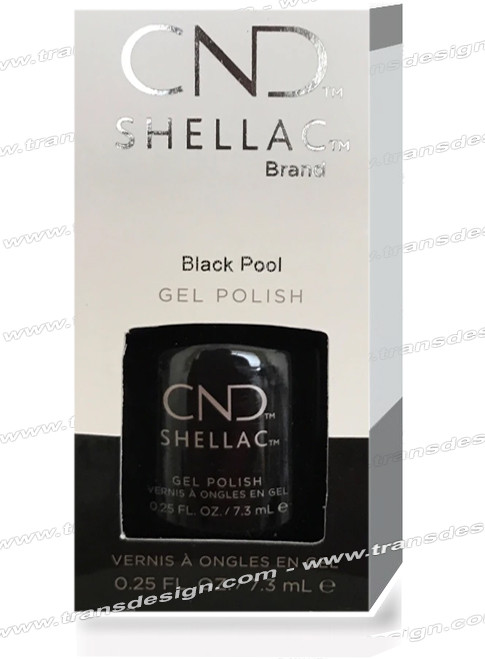 CND Shellac - Black Pool