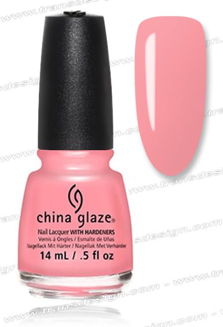 CHINA GLAZE POLISH - Pink or Swim