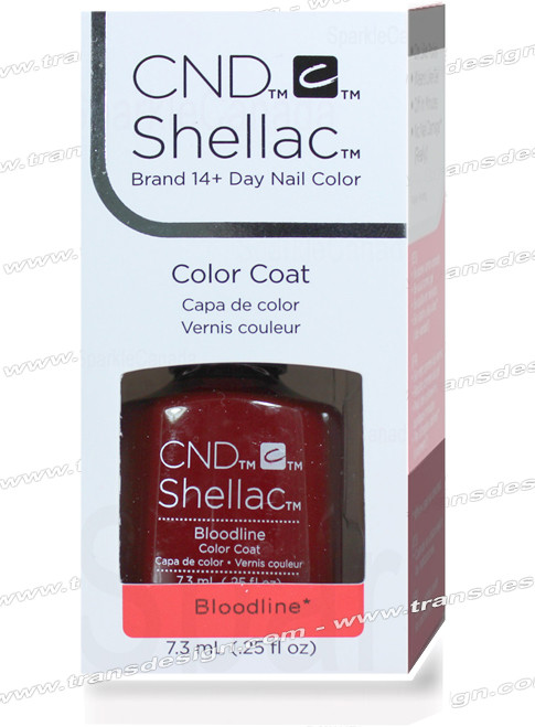 CND SHELLAC - Bloodline 0.25oz.