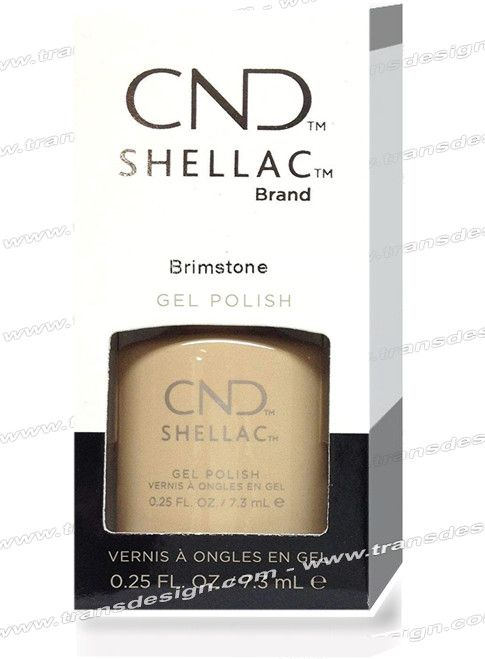 CND SHELLAC - Brimstone 0.25oz.