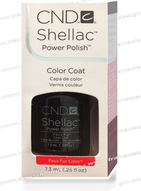 CND SHELLAC - Faux Fur 0.25oz.