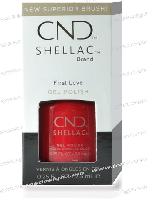 CND SHELLAC - First Love 0.25oz.