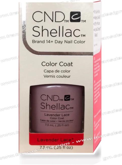 CND SHELLAC - Lavender Lace 0.25oz.