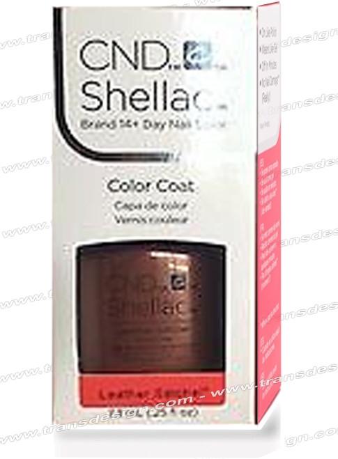 CND SHELLAC - Leather Satchel 0.25oz.