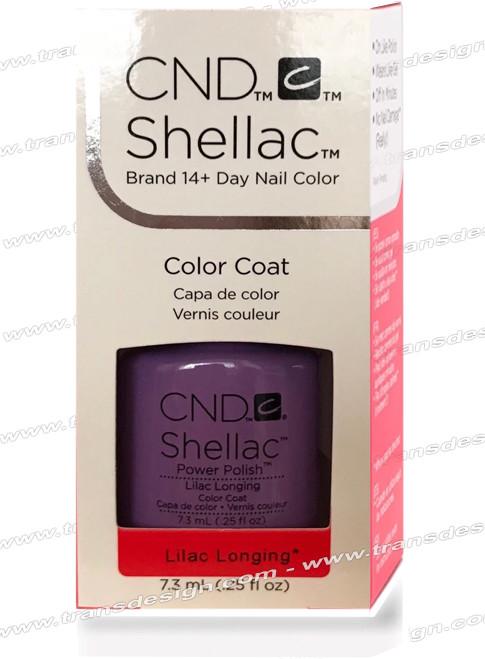 CND SHELLAC -Lilac Longing 0.25oz.
