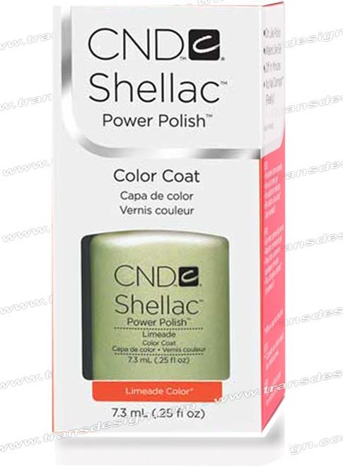 CND SHELLAC -Limeade 0.25oz.
