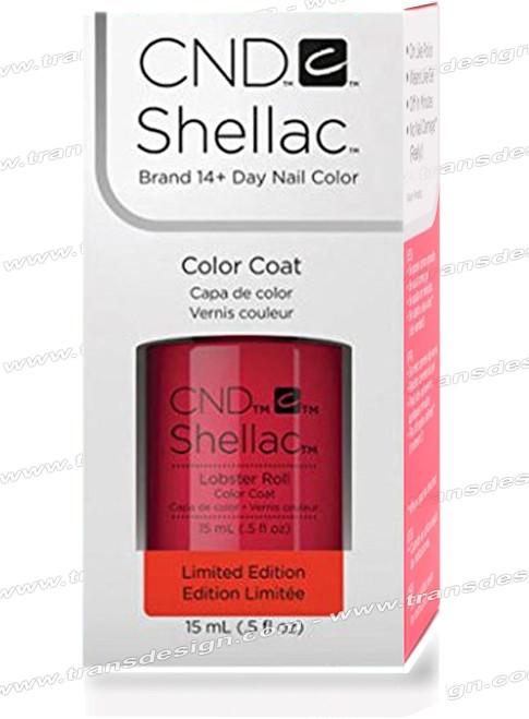 CND SHELLAC - Lobster Roll 0.25oz.