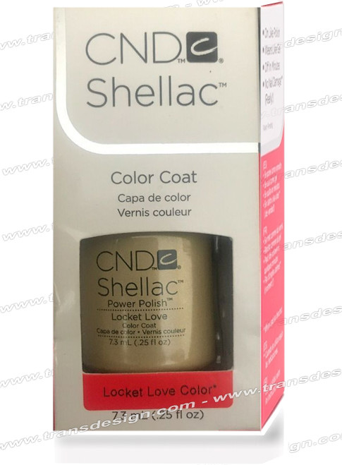 CND SHELLAC - Locket Love 0.25oz.