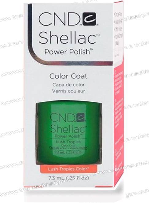 CND SHELLAC - Lush Tropics 0.25oz.