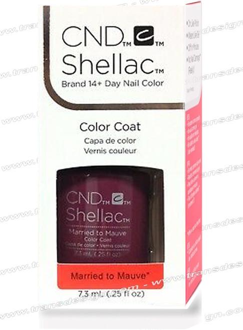 CND SHELLAC - Married to the Mauve 0.25oz.