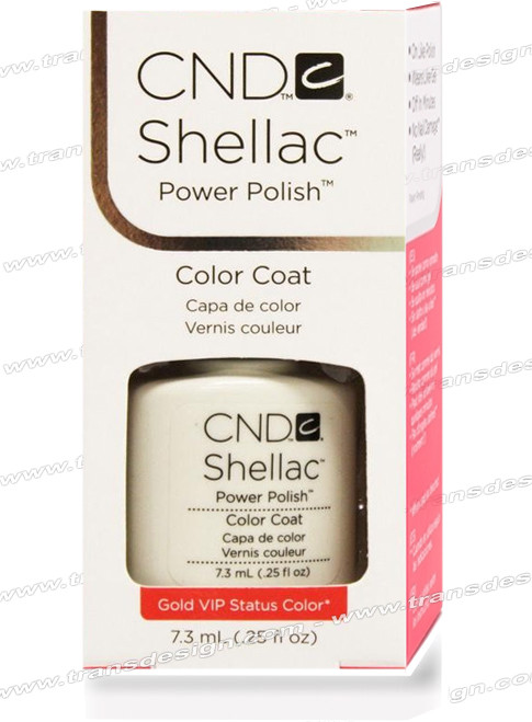 CND SHELLAC - Mother of Pearl 0.25oz. *