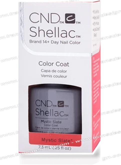 CND SHELLAC - Mystic Slate 0.25oz. *