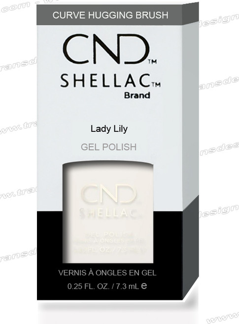 CND SHELLAC - Lady Lilly  0.25oz.