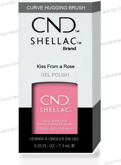 CND SHELLAC - Kiss From A Rose  0.25oz.
