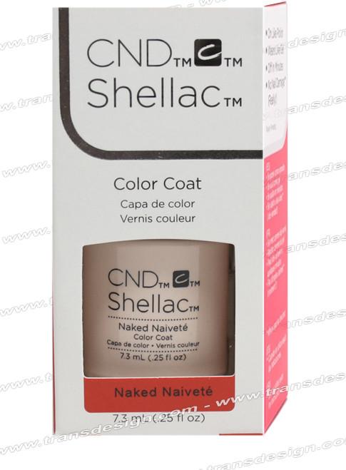 CND SHELLAC - Naked Naivete 0.25oz.