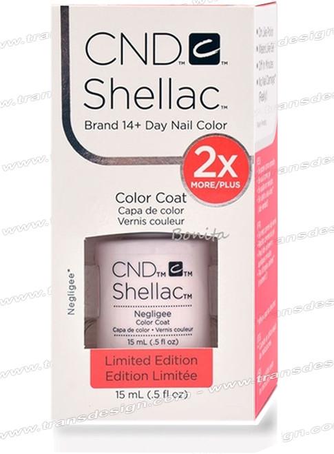 CND SHELLAC - Negligee 0.25oz.