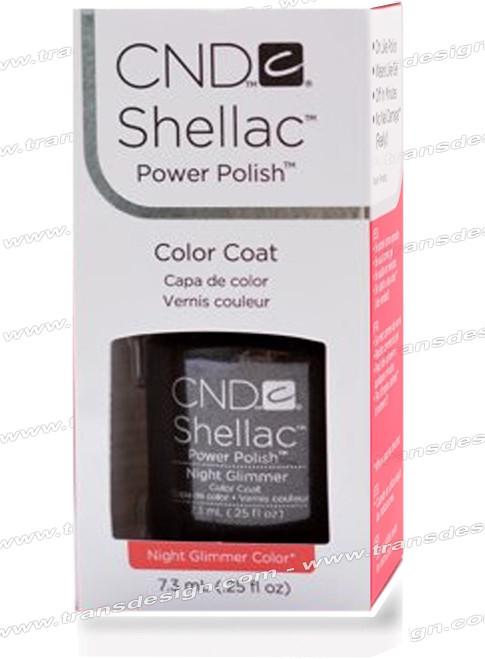 CND SHELLAC - Night Glimmer 0.25oz.