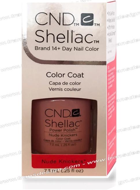 CND SHELLAC - Nude Knickers 0.25oz.