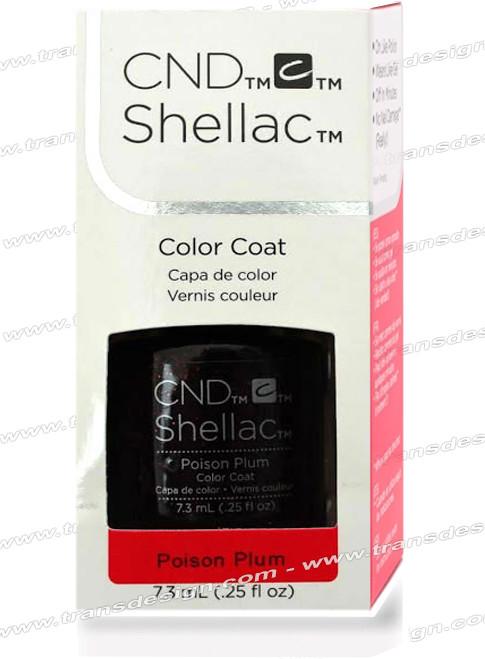 CND SHELLAC -  Poison Plum 0.25oz. *