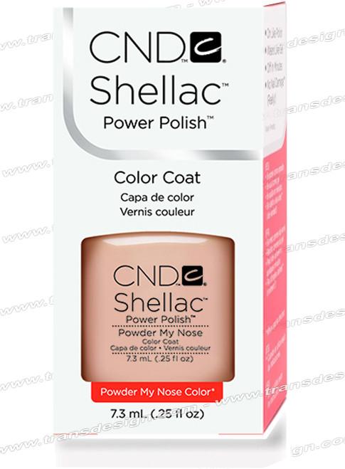 CND SHELLAC -  Powder My Nose 0.25oz.